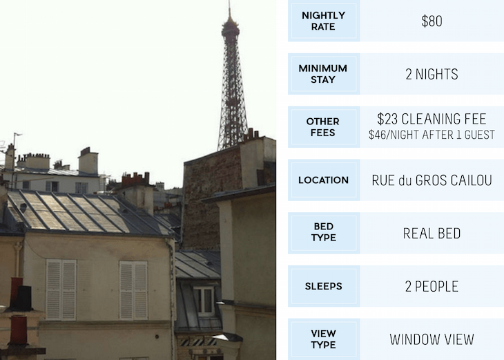 20 Airbnb Listings with a View of the Eiffel Tower
